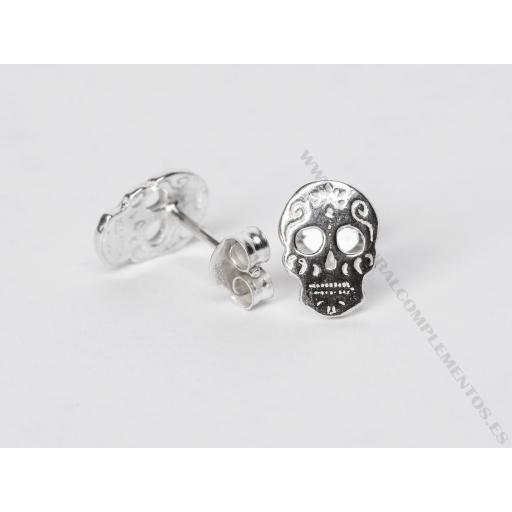 Pendientes Skull