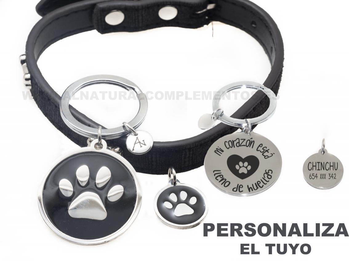 Pack Mascotas: llavero personalizado más placa personalizada mascota