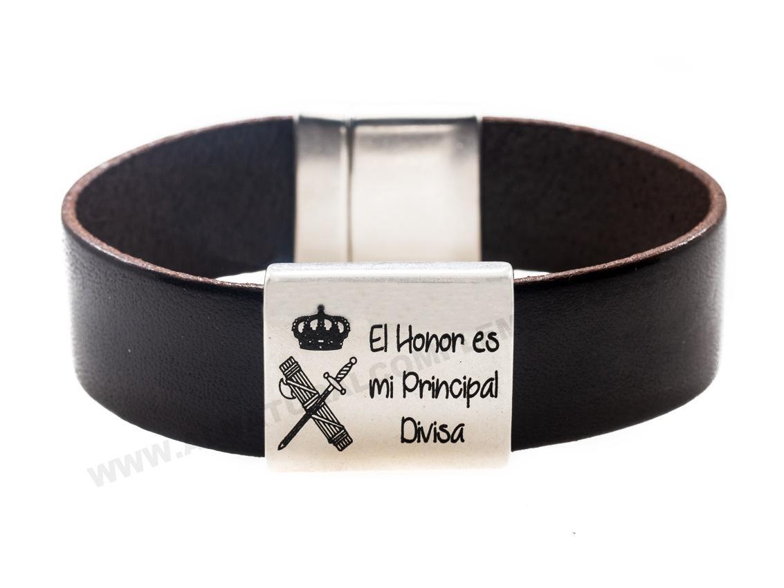 Pulsera Cuero Guardia Civil