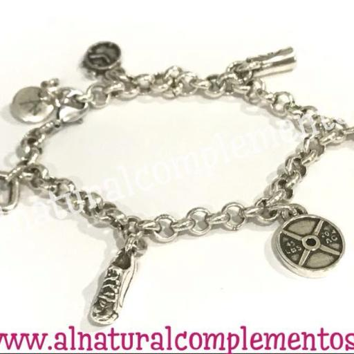 Pulsera Fitness Charms