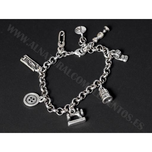 Pulsera Modista Charms