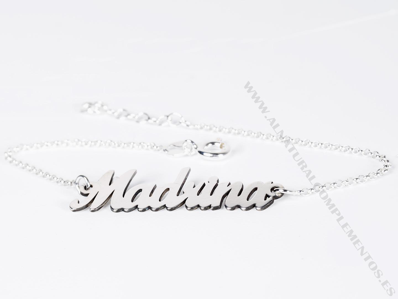 Pulsera Madrina de plata