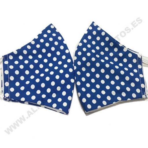 Mascarilla Topos Azul Klein [1]