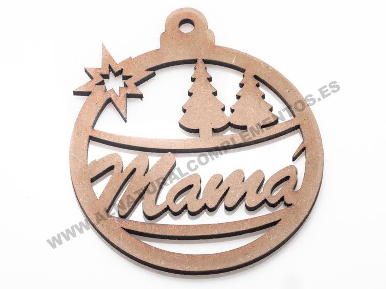 Bola de Navidad personalizada mamá