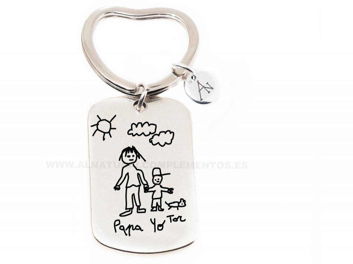 llaveros personalizados para padres