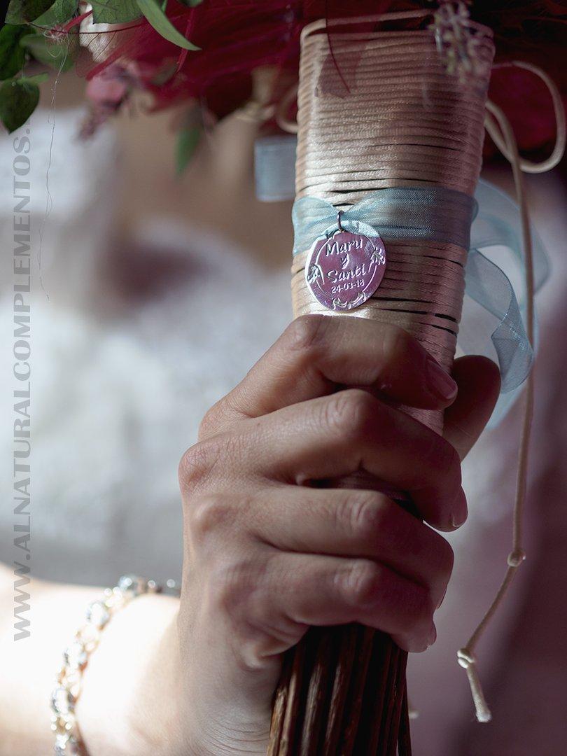 Placa ramo novia