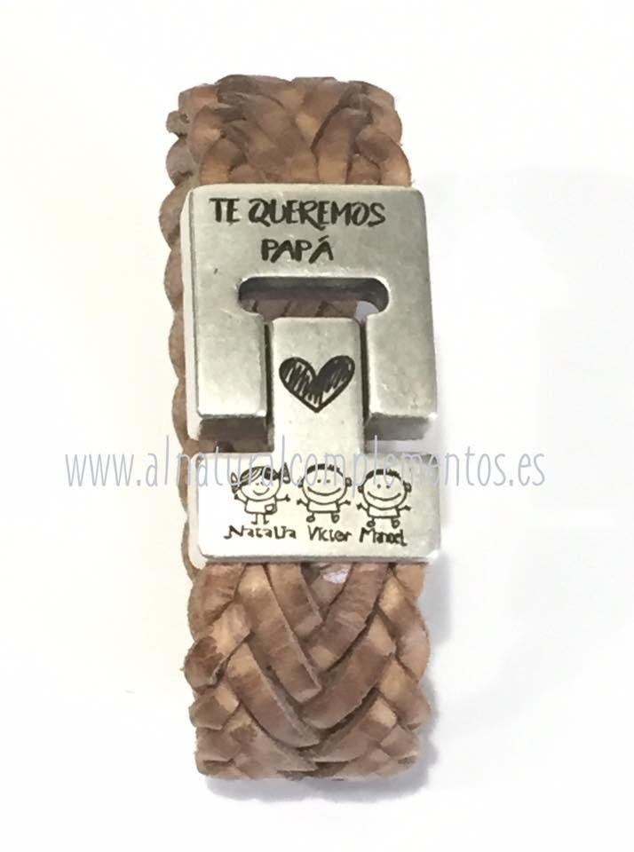 pulseras personalizadas para padres