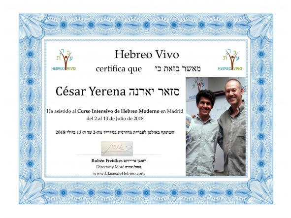Curso intensivo de hebreo Diciembre y Enero [3]