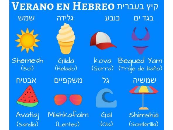 Curso de Hebreo Online en Julio