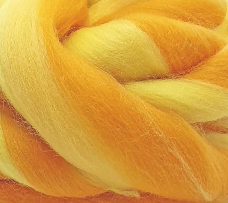 Lana Peinada Fantasía Reflejos Amarillos