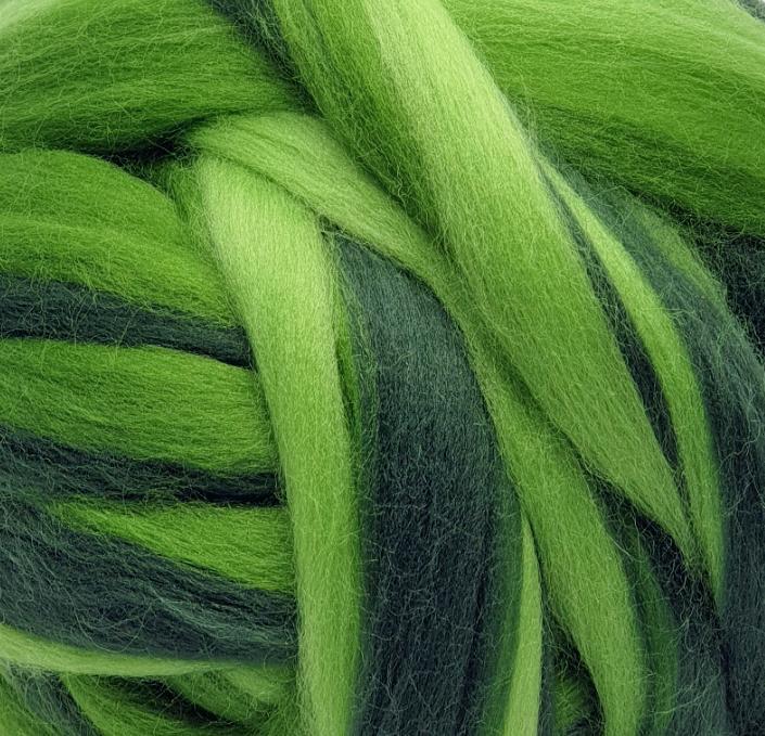Lana Peinada Fantasía Reflejos Verdes