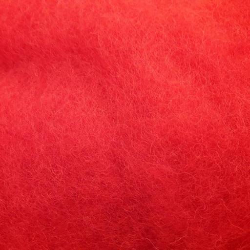 Lana Cardada Fina Rojo Fuego [0]