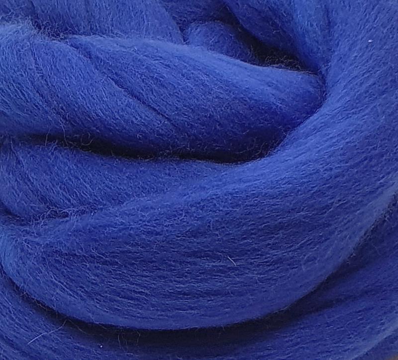 Lana Peinada Extrafina Azul Medianoche