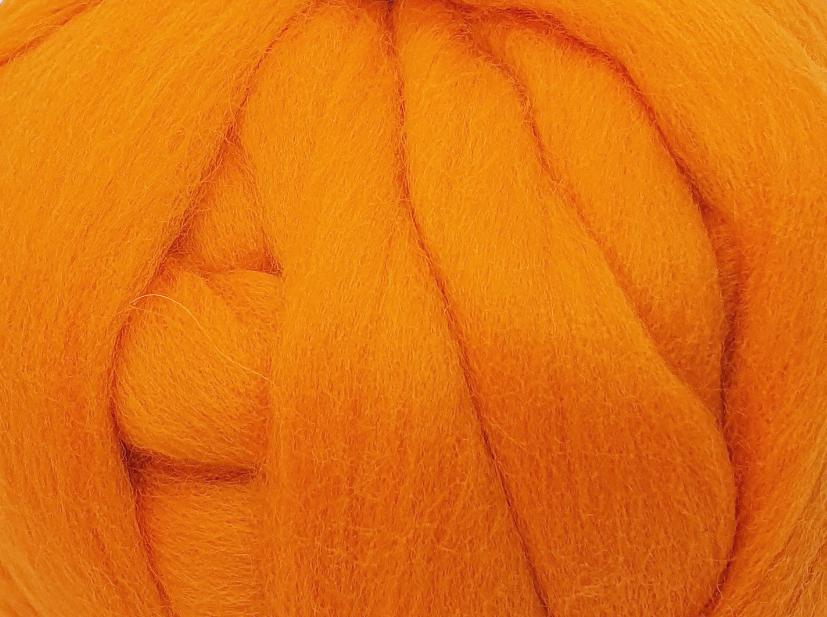 Lana Peinada Fina Naranja