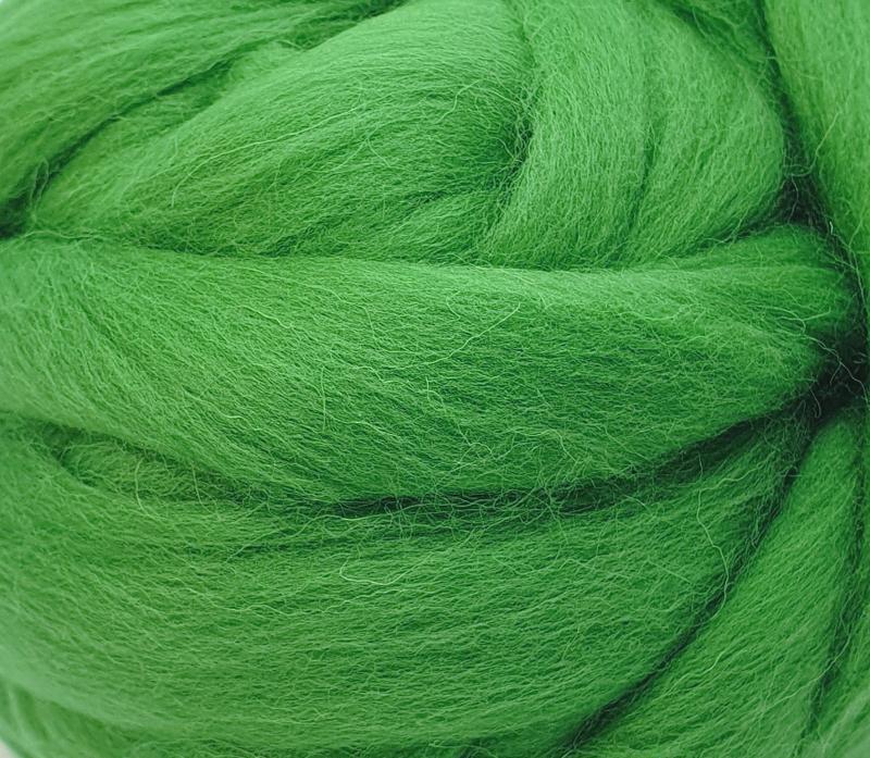 Lana Peinada Fina Verde Primavera