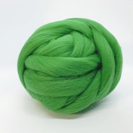 Lana Peinada Fina Verde Primavera [1]