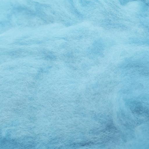 Lana Cardada Fina Azul Hielo