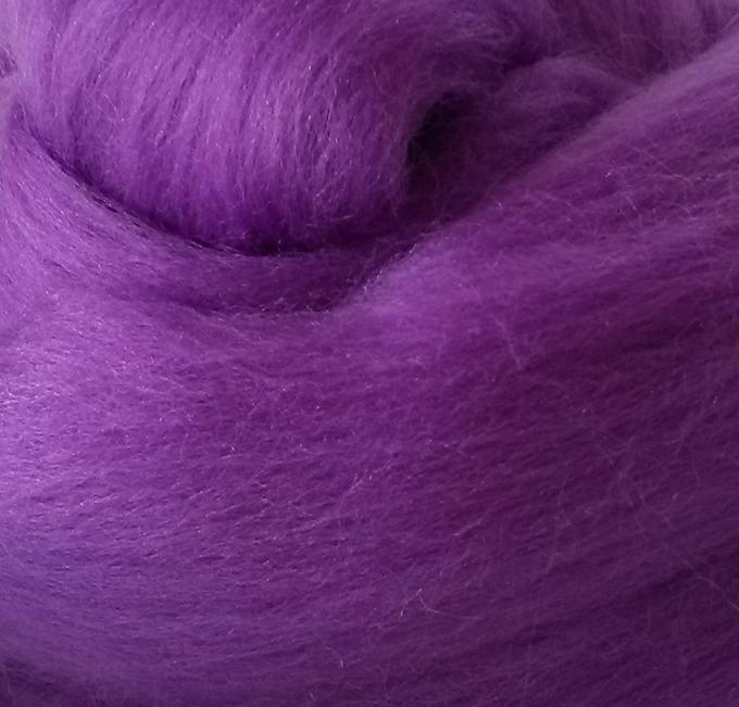 Lana Peinada Extrafina Púrpura