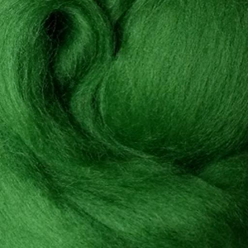 Lana peinada Extrafina Verde Primavera