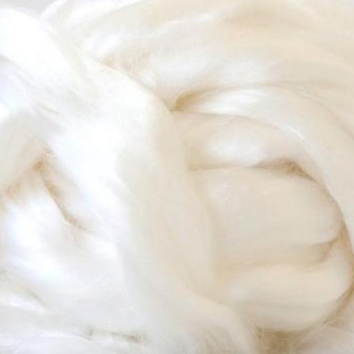 Fibra Tencel™ Lyocell Blanco Natural