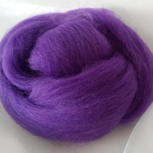 Lana Peinada Fina Púrpura medio [1]