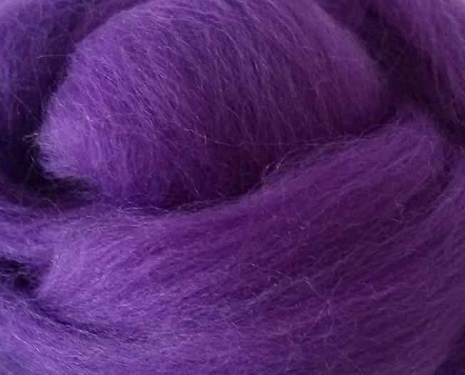 Lana Peinada Fina Púrpura medio