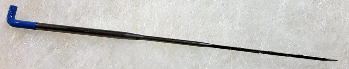 Tipos de Agujas Para fieltrar (felting needle)