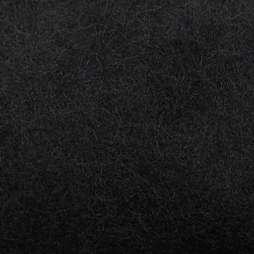 Lana Cardada extrafina negra