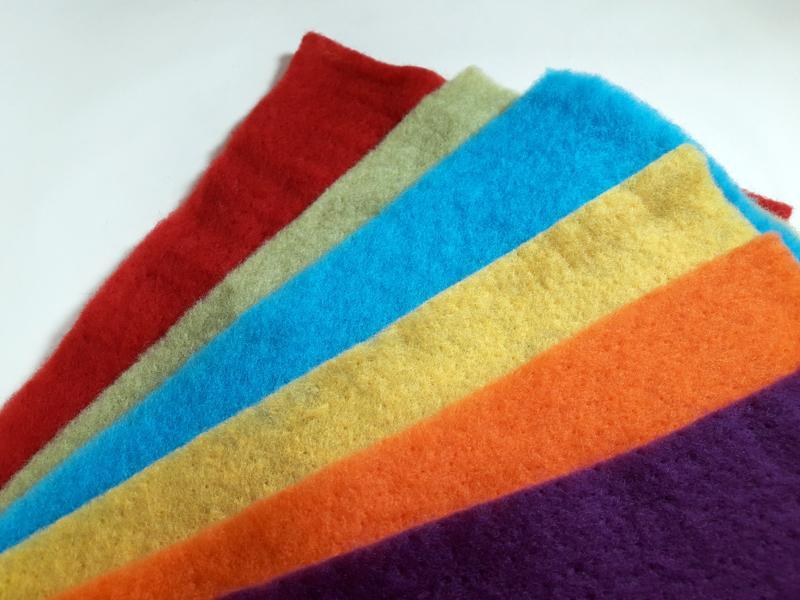 Prefieltro Mix 6 Colores DIN A4