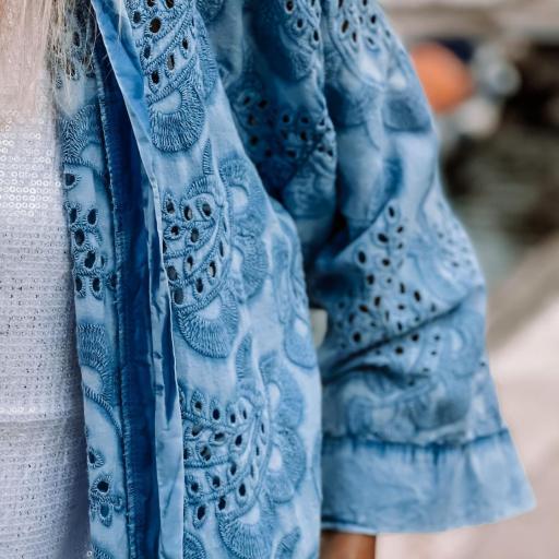 Blue Brodery Kimono (Ref.5712) [3]