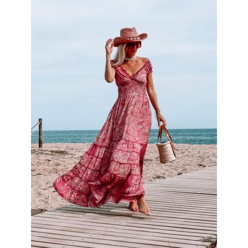 Vestido Pink Valentina (Ref.5589)