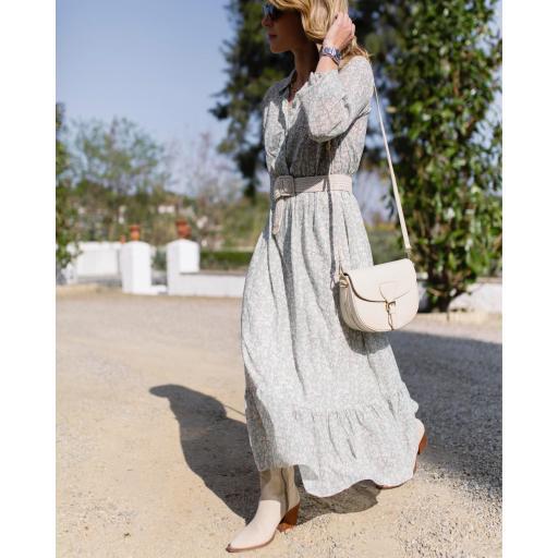 Vestido Susan Cuello Mao  (Ref.5499) [1]