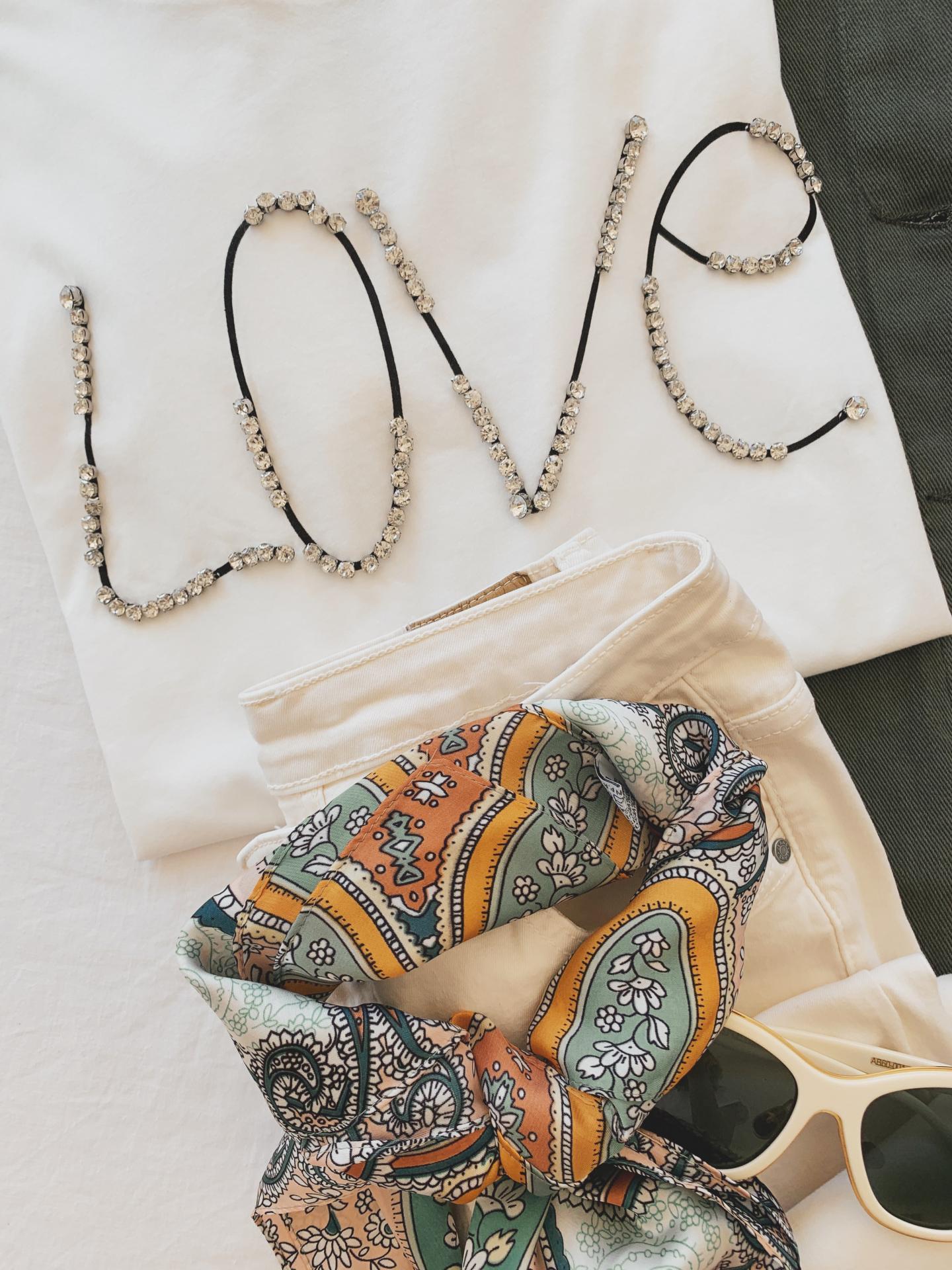 Camiseta Pedreria Love (Ref.4197)