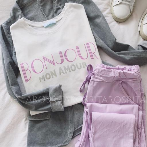 Camiseta Bonjour (Ref.3173) [1]