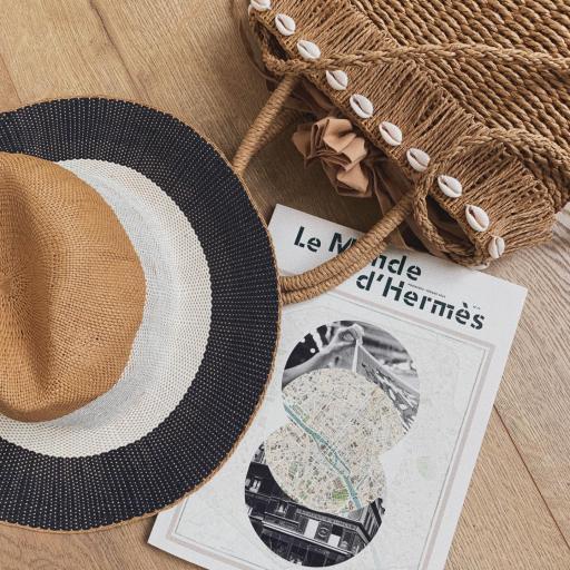 Sombrero Camel & Blue Marine (Ref.4126)