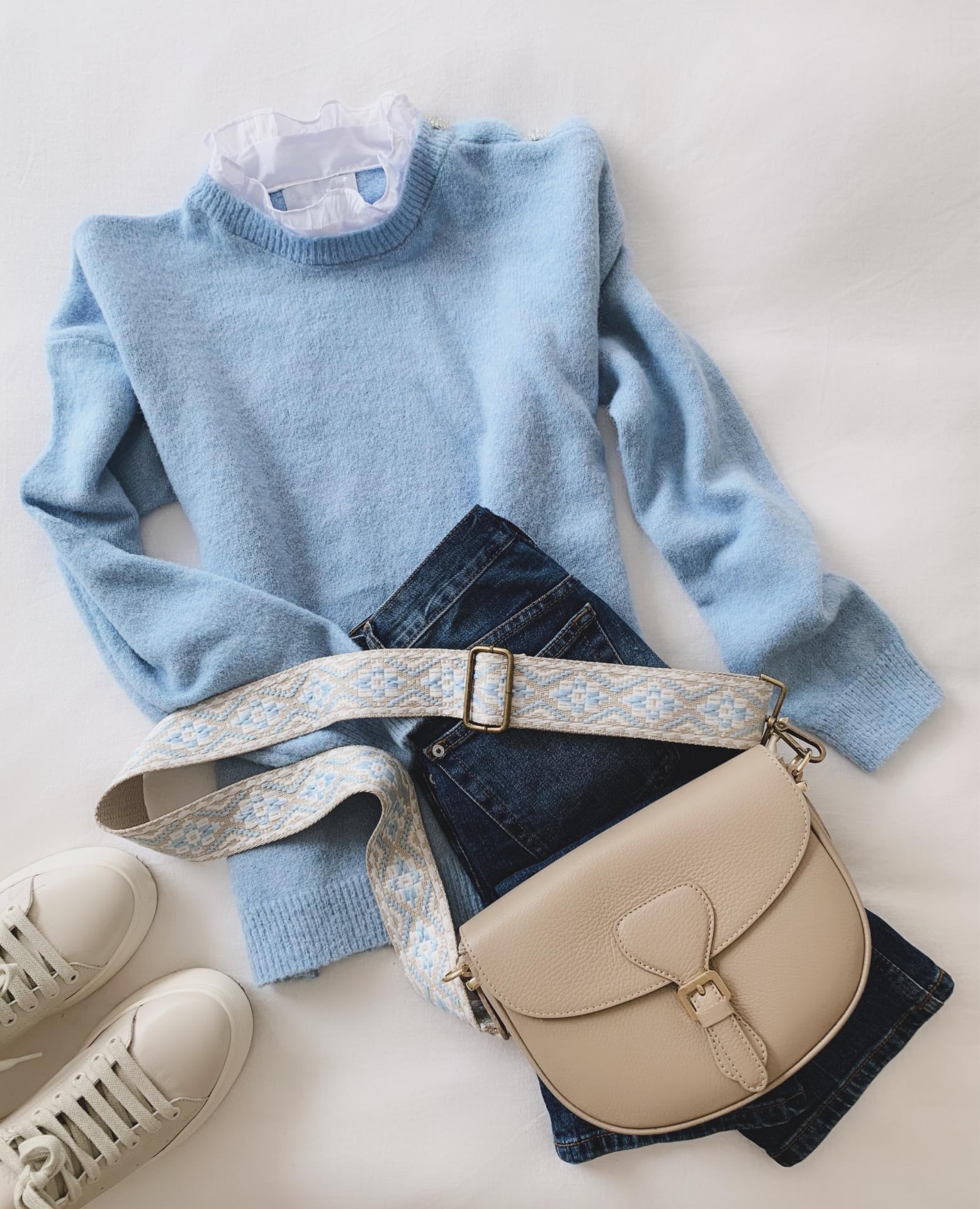Jersey Cuello Blusa (Ref.5368)