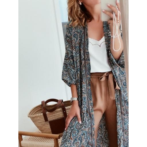 Kimono Blue Paisley (Ref. 5641)