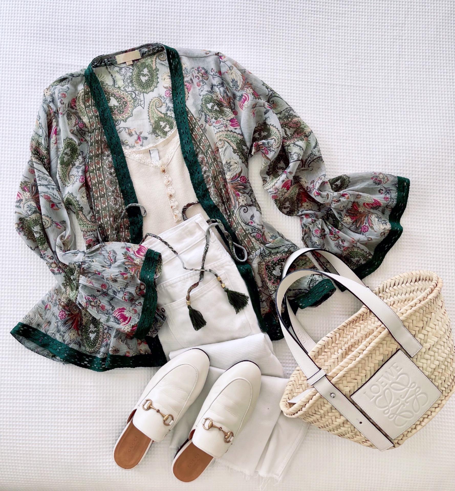 Chaqueta Kimono Provence (Ref.5474)