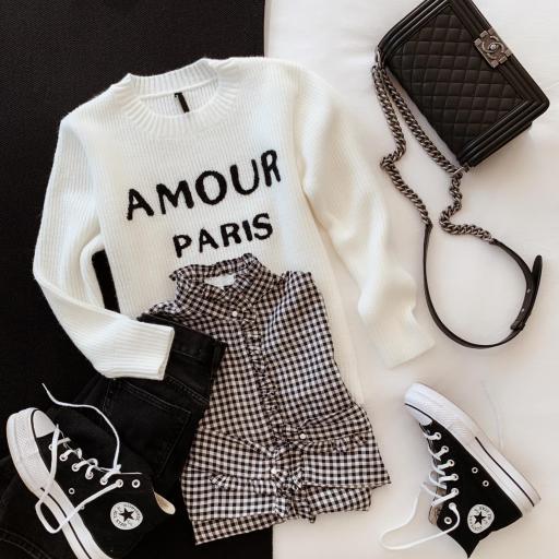 Jersey Amour Paris (Ref.5363)