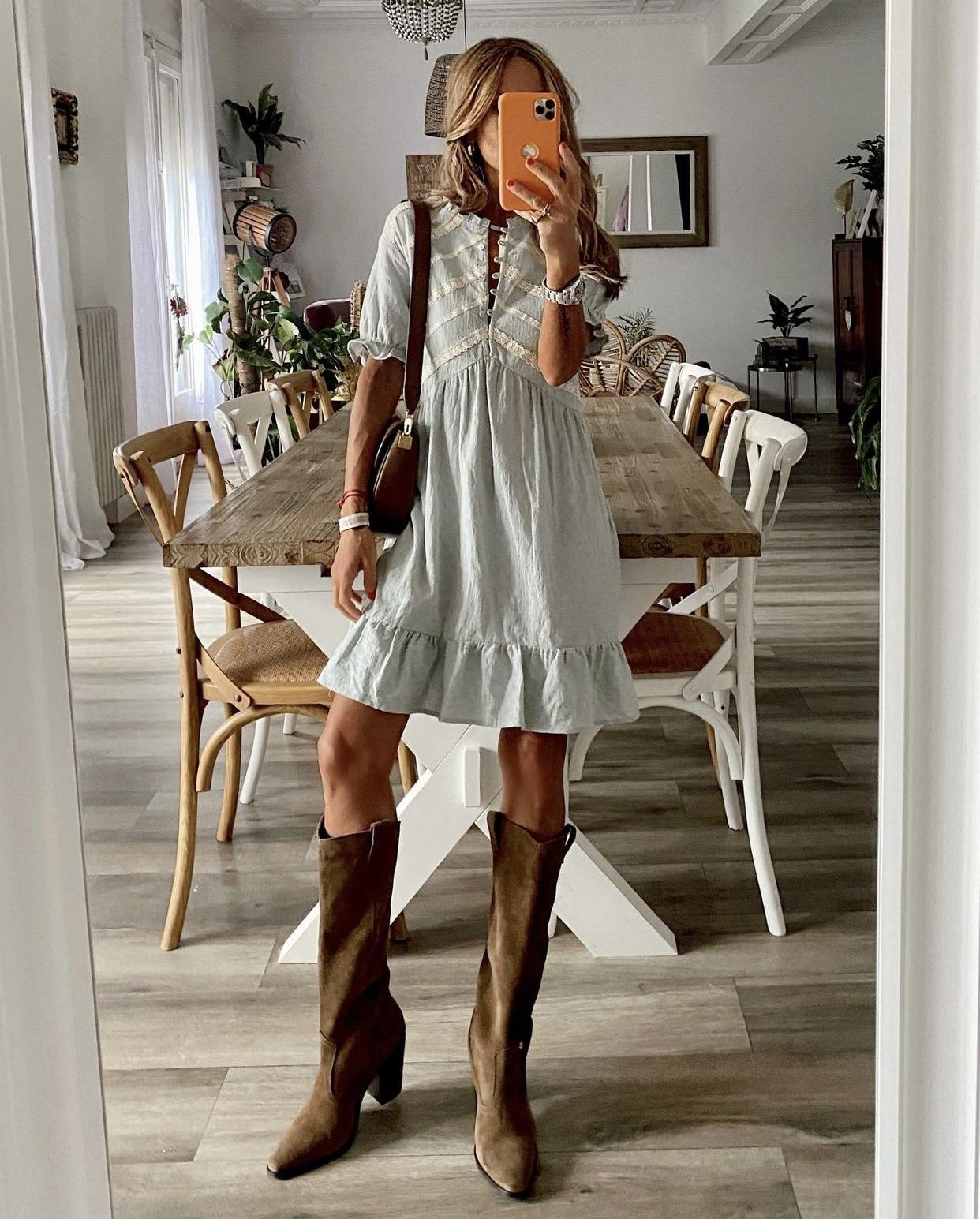 Romantic Boho Dress (Ref.5491)