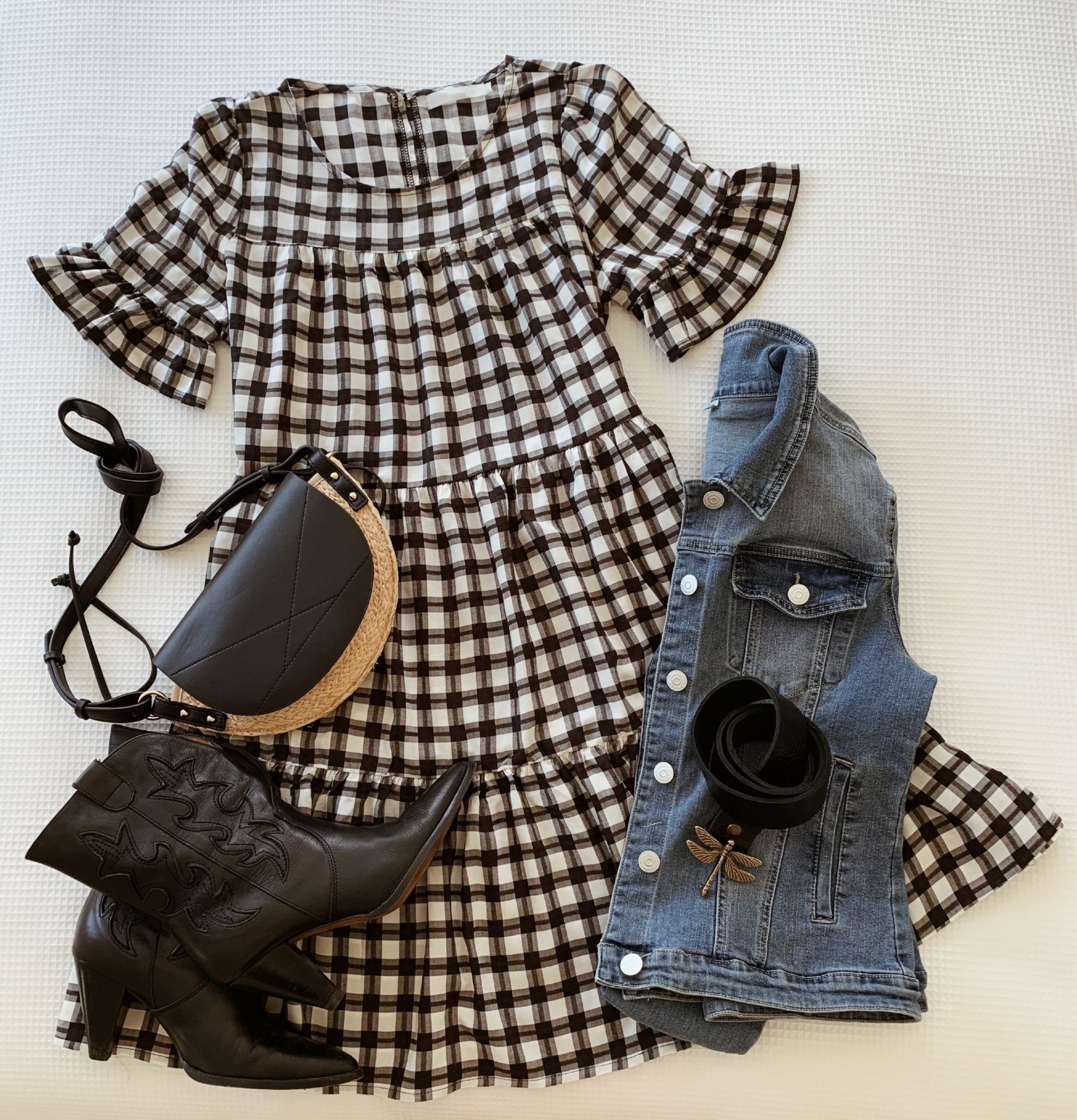 The Little Vichy Dress (Ref.5459)