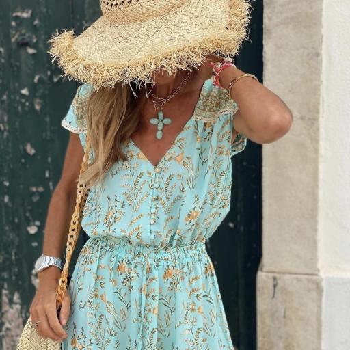 Vestido Turquoise (Ref.4108) [1]