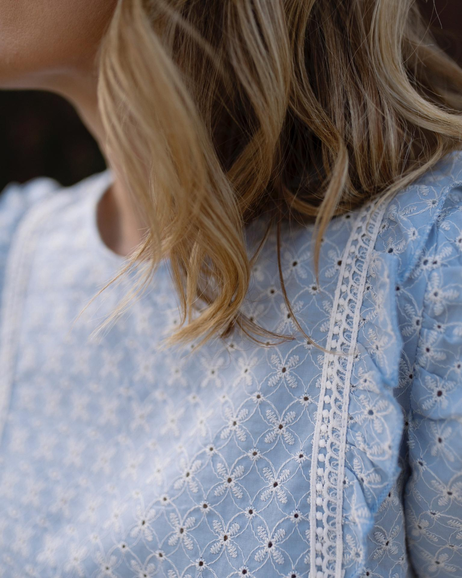 Blusa Provence in Blue (Ref. 5507)
