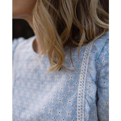 Blusa Provence in Blue (Ref. 5507) [0]