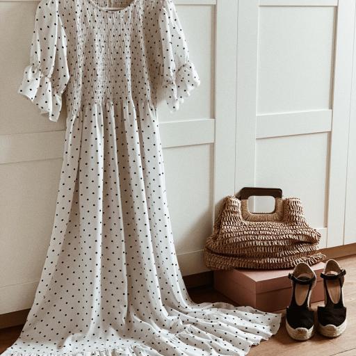 Vestido Romantic Dots (Ref.4016) [1]