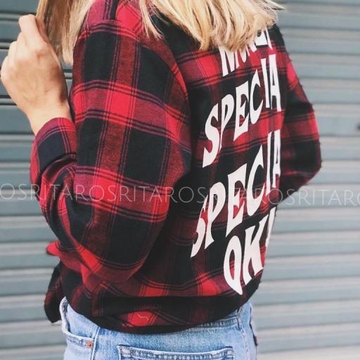 Camisa Cuadros Red & Black (Ref. 2909) [1]