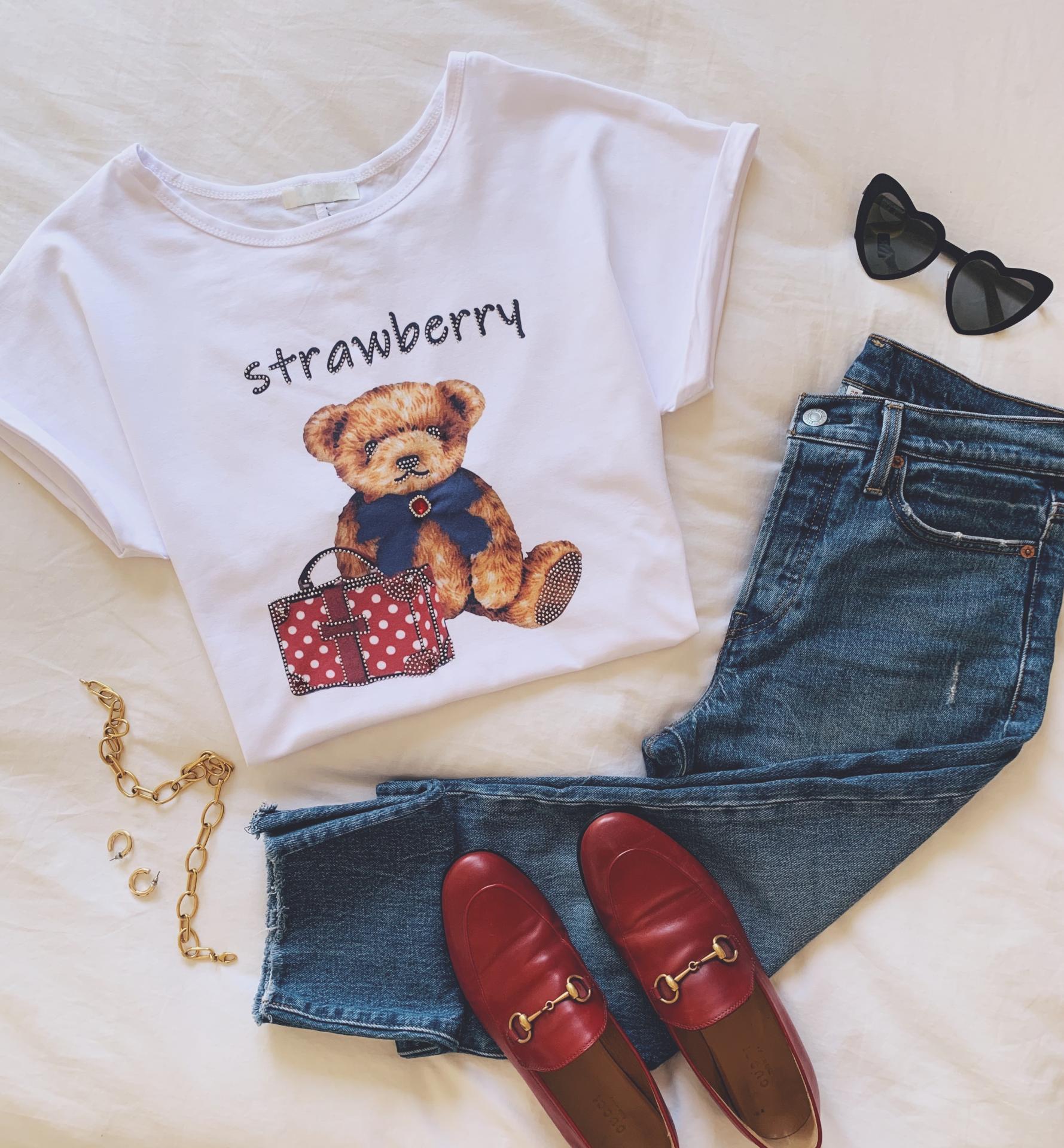 Camiseta Red Bear (Ref.3326)