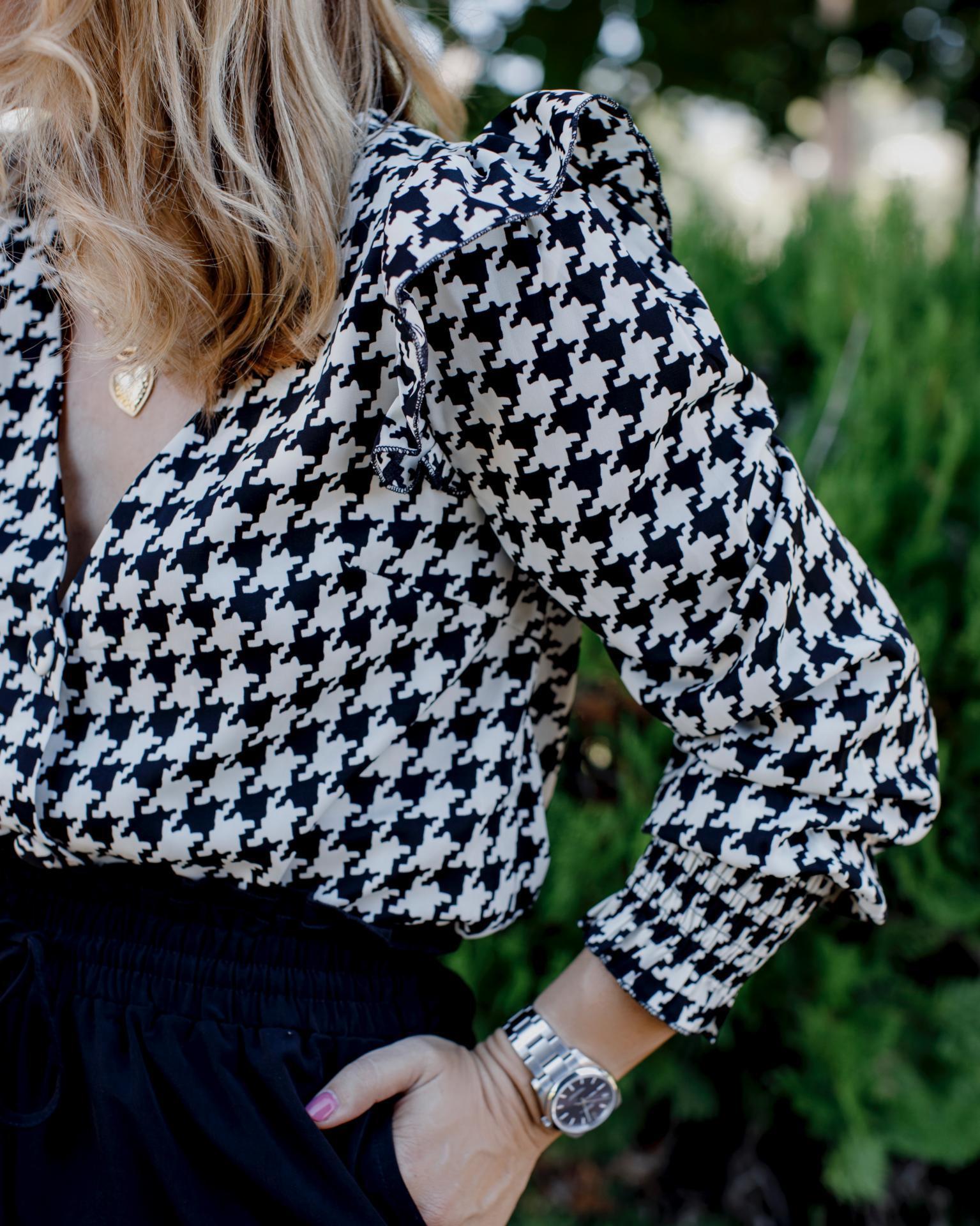 Blusa Black & White (Ref.4204)