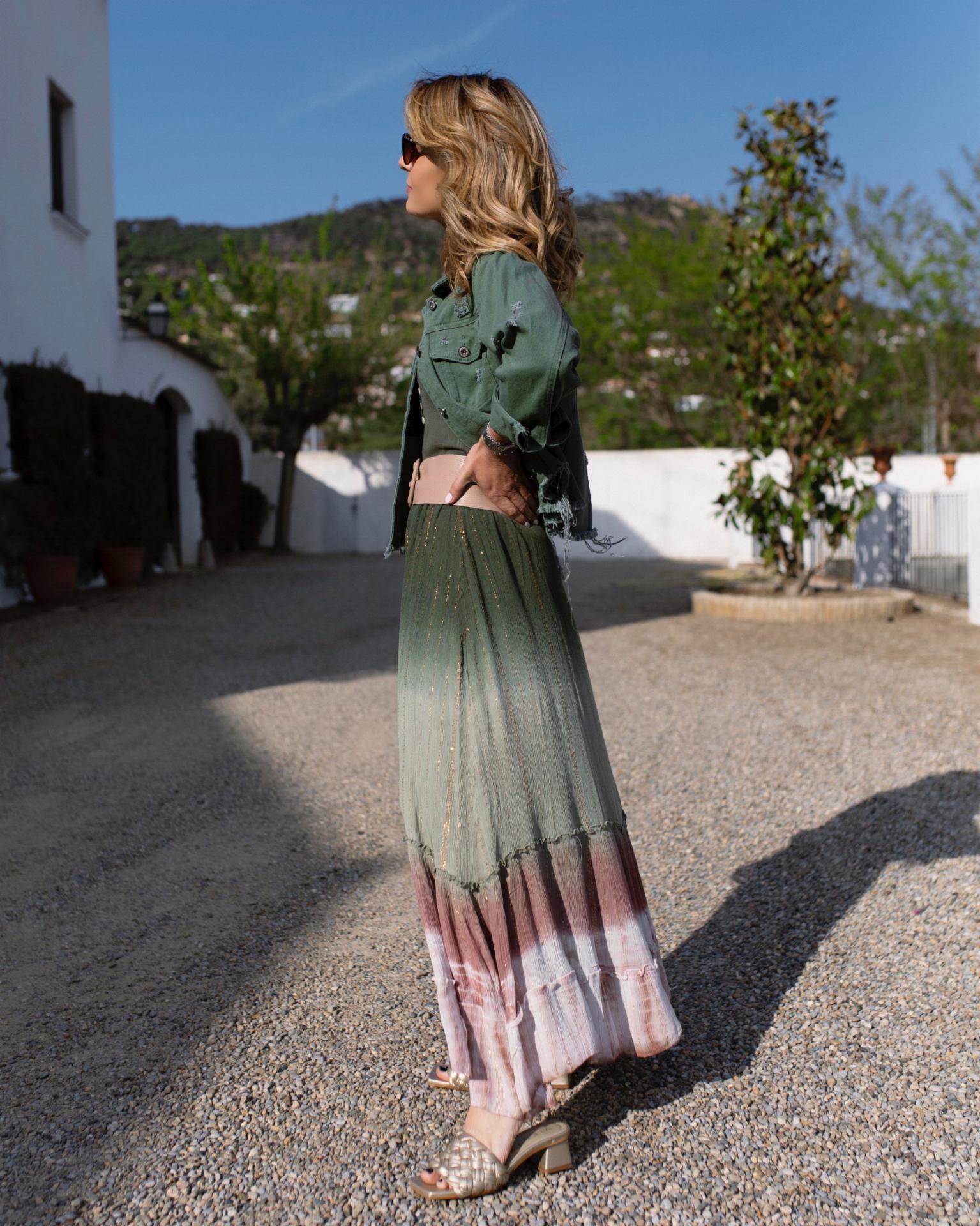 Falda Tie Dye (Ref.5498)