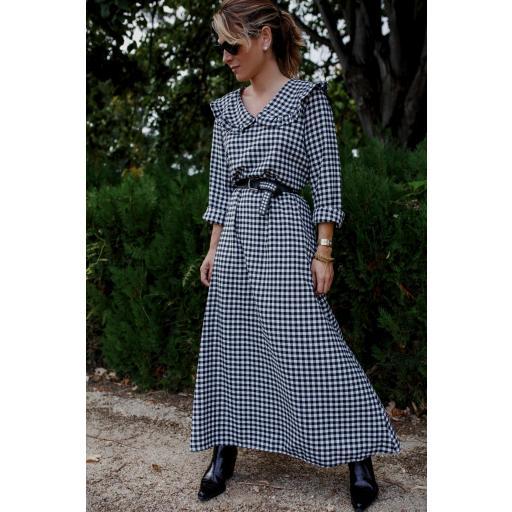 Vestido Vichy Largo (Ref.4272) [3]